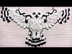 Polymer Clay Owl Queen Necklace - YouTube