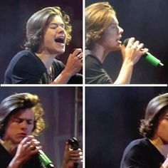 Harry Styles.  I love him but he looks a little like a girl in this