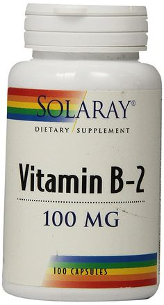 Solaray B-2 Supplement, 100 mg, 100 Count *** More info could be found at the image url. (This is an Amazon Affiliate link and I receive a commission for the sales)