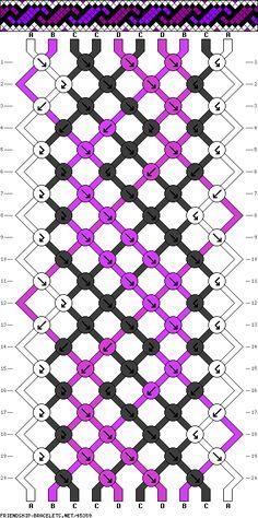 10 strings, 4 colors, 20 rows