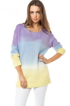 Changing Moods Sweater-minus the cross necklace! Lol