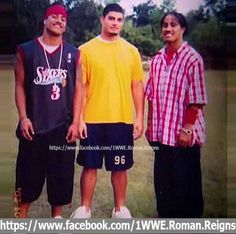 Jimmy, Roman and Jey