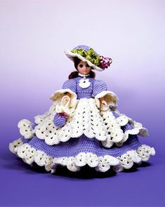 More Bed Dolls and Music Box Dolls to Crochet – free patterns – Grandmother's Pattern Book
