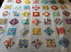 Suz from Patchwork n  Play's Sunnybrook Farm {aka Farmer's Wife} Quilt.