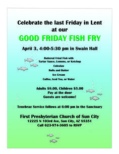 Free Fish-Fry Flyer Templates | Fish Fry Poster | Flyer Template ...
