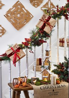#Christmas Decorating Theme: Rustic Whimsy