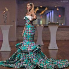 African Prom Dresses, African Wedding Dress, African Fashion Dresses, African Dress, Wedding Dresses, African Outfits, Fashion Outfits, Ankara Gowns, African Clothes