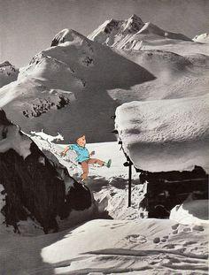 Tintin in Austria