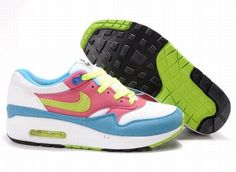 840ad674b000 Find Women Nike Air Max 1 White Blue Pink Lastest online or in Pumafenty.  Shop Top Brands and the latest styles Women Nike Air Max 1 White Blue Pink  Lastest ...