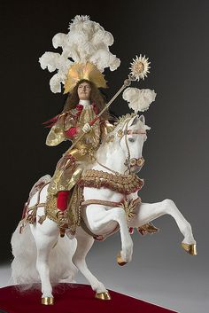 Louis XIV on horseback Doll: Photo by By golondrina411 on Flickr Photo courtesy of the Gallery of Historical figures (http://www.galleryofhistoricalfigures)