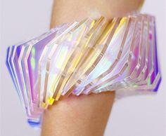 beautiful acrylic jewellery by Sarah Angold