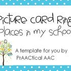 Free! Places in My School: Picture Ring Kit