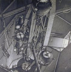 geomechanical-tower-inner-central-shaft-from-the-series-centricity-1987-1988
