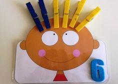 Сколько волос на голове? #игры #математика #счёт Preschool Education, Kindergarten Math, Preschool Activities, Counting Activities, Math Games, Learning Numbers, Fun Learning, Daily 5 Math, English Activities