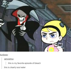 Remember when the Grim Adventures of Billy and Mandy had a moment of anime styled stuff and we didnt know