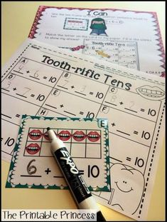 A HUGE collection of math and literacy activities for Kindergarten! Perfect for February!