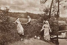 19th Century Photography   He Never Told His Love (1884) by H P Robinson 1830-1901, copyright ...