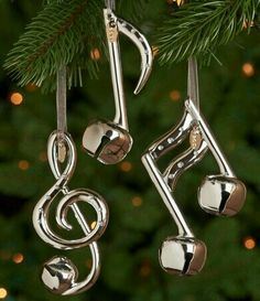 Musical note Christmas ornaments