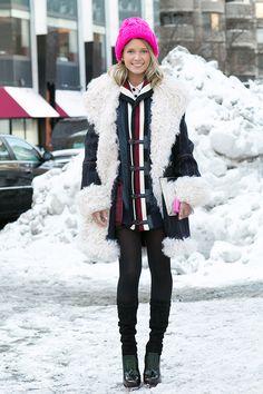 Неделя моды в Нью-Йорке AW14: street style. Часть V (фото 8)