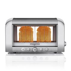 The world's first transparent toaster, Magimix's two-slice machine, took engineers 15 years to perfect / Magimix and Kaloric have clear toasters in the market
