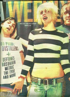 The Distillers - Brody Dalle Great Bands, Cool Bands, Tim Armstrong, Brody Dalle, The Distillers, Josh Homme, Punk Rock Girls, Tv Icon, Women Of Rock