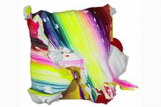 Yago Hortal artwork - textured abstract painting