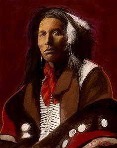Apache warrior by Craig Nelson