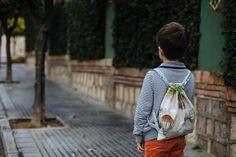 #Mochilas para #niños #handmade #telas #hechoamano #kids #schoolbags #bags #vintage