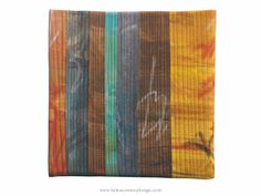 """Graffiti 4b - Art Quilt by Helen Conway 8"""" x 8"""" stretched over canvas www.helenconwaydesign.com"""