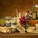 Una composizione di prodotti tipici di www.caserecci.com