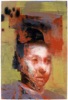 Head I    Oil on panel, Tom Wood