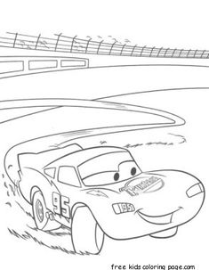 Top 25 Lightning Mcqueen Coloring Page For Your Toddler Cars