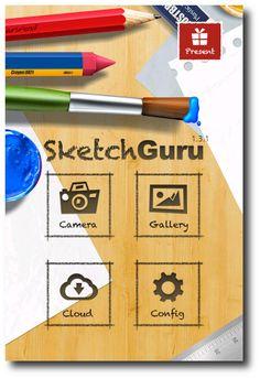 Aplicación Android para crear bosquejos a partir de fotografías en pocos pasos. Lee más en: http://andesken.com/sketch-guru-para-android/