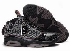 Mens Nike Air Jordan 23 Retro Shoes 03 Black Grey [Men AJ 23 Retro-