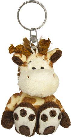 PetJes 990303 Giraffe Plush KeyChain