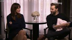 SO funny!  Jamie Dornan & Dakota Johnson - Fifty Shades interview on This Morning (13.02.15)