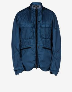 40801 FIELD JACKET _ PULVER R 3L Mid Length Jacket Stone Island Shadow Project Men -Stone Island Online Store