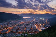 my home town Piatra Neamt - Romania Central Europe, Aerial View, Paris Skyline, Scenery, Journey, Country, Places, Travel, Beautiful