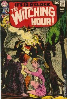 Witching Hour #6  | comic art inspiration | digital media arts college | www.dmac.edu | 561.391.1148