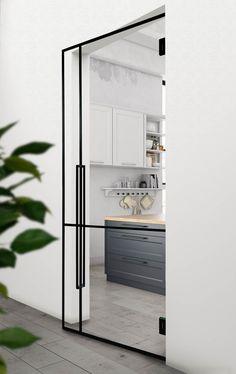 Contemporary Interior Design, Office Interior Design, Modern Kitchen Design, Bathroom Interior Design, Office Interiors, Living Room Interior, Interior Design Inspiration, Deco Design, Küchen Design