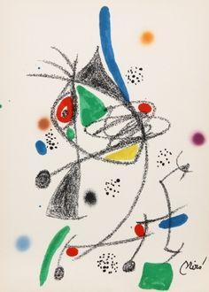 Lithograph - Joan Miró - Maravillas con Variaciones Acrosticas en el jardin de Miro (Number 6)