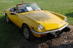 The Triumph Spitfire 1500 ... a thing of beauty