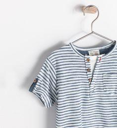 ZARA - ENFANTS - T-shirt à rayures