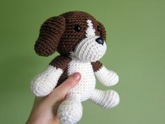 amigurumi crochet beagle pattern freshstitches. THE cutest thing ever :D