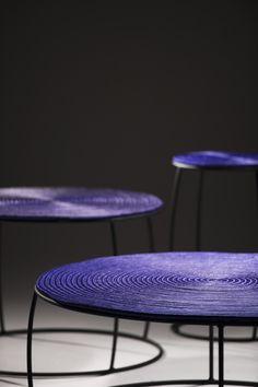 Guacamaya Tables. For: Zientte / Artesanías de Colombia.  Design: Sergio Vergara
