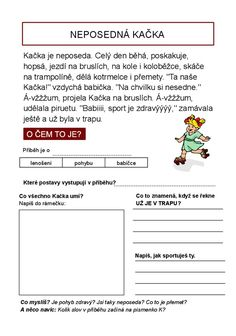 O čem to je? Čteme s porozuměním : strana 7 School Humor, Kids Education, Funny Kids, Worksheets, Homeschool, Classroom, Teaching, Literatura, Autism