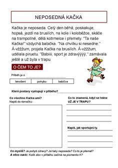 Čtení s porozuměním může být pro některé děti problém. Soubor pracovních listů, které obsahují vždy text, doplňující otázky, další psaní a...