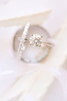 Wedding Rings Stunning Wedding Band And Engagement Ring Beautiful Wedding Rings, Dream Wedding, Wedding Day, Wedding Album, Elegant Wedding, Titanium Wedding Rings, Wedding Ring Bands, Bridal Rings, Wedding Engagement