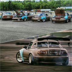@dawabbit x @dickycullen x @crogo95 x @flickmybic55 #clubloose #ClublooseNorth TopMiata.com | #TopMiata #mazda #miata #turbo #turbomiata #turbomx5 #mx5 #eunos #roadster #mercedes #mercedesbenz #benz #190e #w201#ford #mustang #nissan #240sx #drift #drifting #driftlife