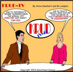 Electrifying News from KRUD-TV. Let Bo know we want to see more!